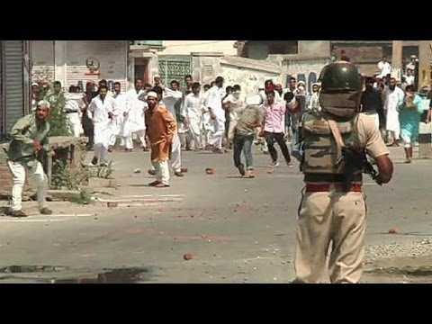 Clashes in Kashmir after Eid al-Fitr prayers - no comment