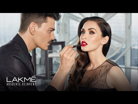 Introducing Lakme Absolute Reinvent - Megan Fox Glamorous Transformation by Mario Dedivanovic