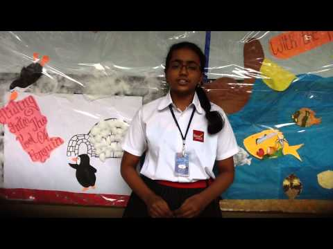 A Speech By Sahithi Adduri From Grade Viii In English Intensive Class video