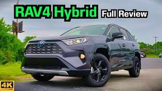 2019 Toyota RAV4 Hybrid: FULL REVIEW + DRIVE | THIS is the RAV4 to Get!