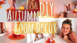DIY Autumn/Fall Room Decorations!
