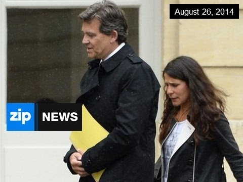 French Prime Minister Resigns - August 26, 2014