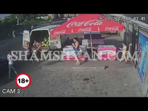 Կոտայքի մարզում պապու և թոռան ողբերգական վրաերթն արձանագրել է փողոցի տեսախցիկը