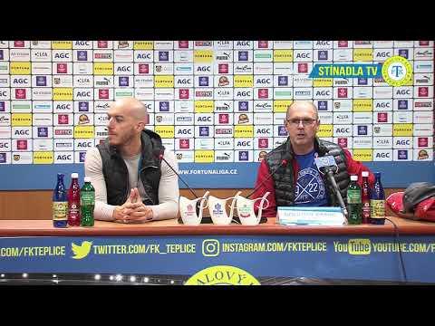 Tisková konference hostujícího týmu po zápase Teplice - Ostrava (26.10.2018)