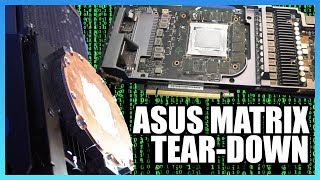 ASUS Matrix Tear-Down: Radiator Replaces Shroud (2080 Ti)
