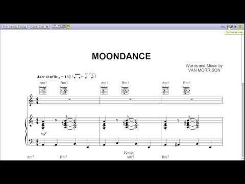 Moondance Van Morrison Sheet Music ▶ Moondance by Van Morrison