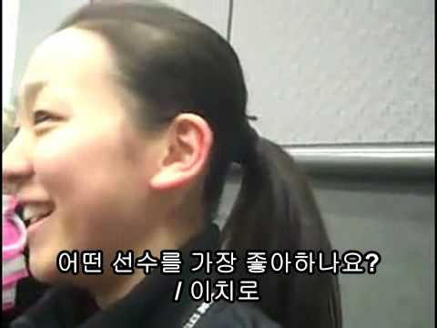 MAO ASADA INTERVIEW 2009.03.25 (About WBC FINAL KOREA vs JAPAN)