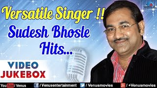 Versatile Singer : Sudesh Bhosle Hits ~ Best Hindi Songs || Video Jukebox