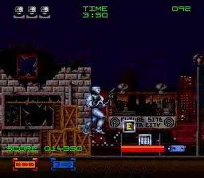 Robocop 3 - SNES - Level 1