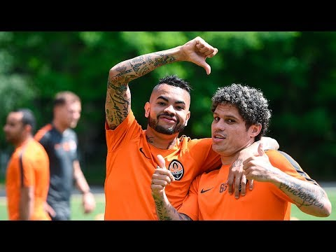Shakhtar's first training session in 2017/18 season