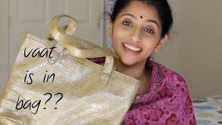 What is in my bag?   Sailaja Talkies