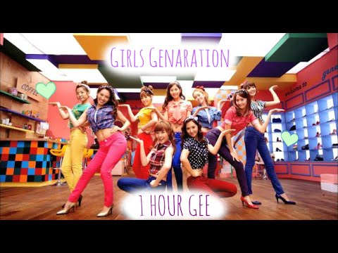 【1 HOUR】 Girls Generation - Gee