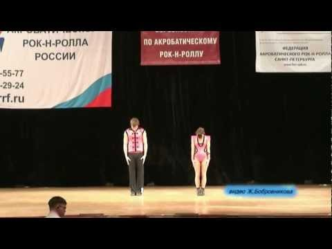 Alina Lebedeva & Dimitri Alekseev - St. Petersburg Cup 2011