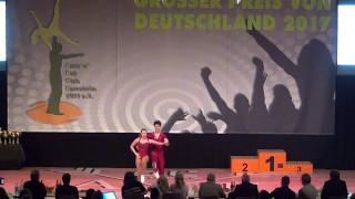 Carolin Steinberger & Tobias Planer - Großer Preis von Deutschland 2017