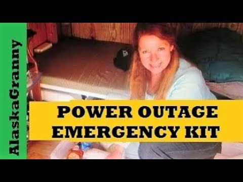 Power Outage Kit For Emergencies