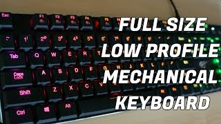 HAVIT HV-KB395L Low Profile Mechanical Keyboard - Unboxing, First Impressions and Quick Review