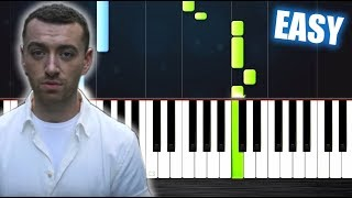 Sam Smith - Too Good At Goodbyes - EASY Piano Tutorial by PlutaX