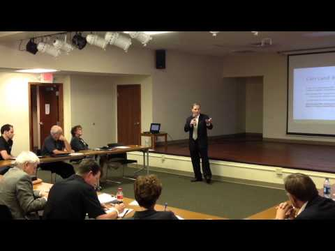 Russell Ryden discusses land banks in Kankakee IL