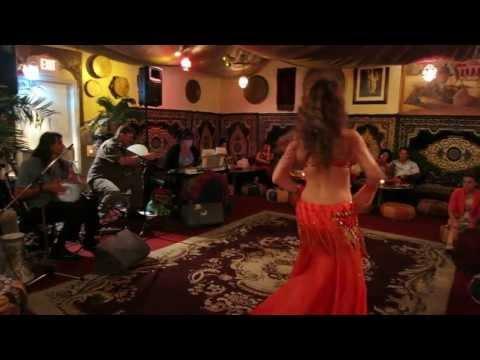 Maria At El Morocco ~ Belly Dance ~ Mavi Mavi Miserlou Tabla video
