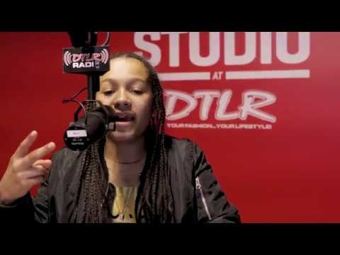 13-Year Old KING QUAN DTLR RADIO FREESTYLE | JAY HILL #FREETHAGHOST