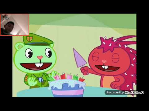 Reaction to Happy Tree Friends lesser of two evils
