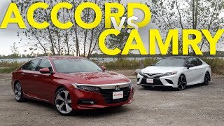 2018 Honda Accord vs Toyota Camry Comparison