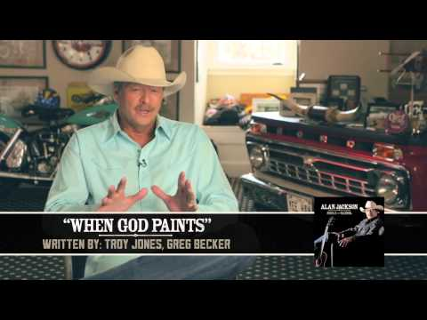 Alan Jackson - When God Paints