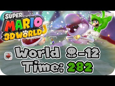 Super Mario 3D World: (Flower-12) Boss Blitz - 282