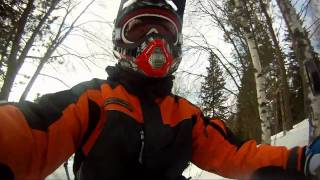 Ride On A Moped With GoPro Camera Onboard