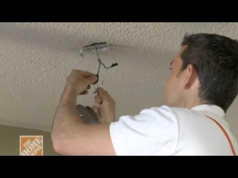Como poner una lampara de techo led