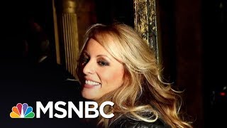 President Donald Trump Makes First Public Comments On Stormy Daniels | All In | MSNBC