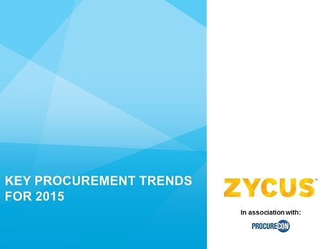 Key Procurement Trends for 2015