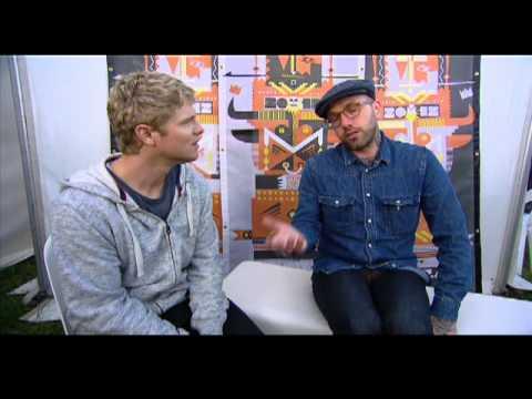 DALLAS GREEN (City&Colour) - Groovin Moo Festival 2012 - BPM Interview