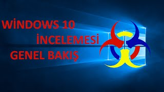 windows 10 İncelemesi - Windows 10