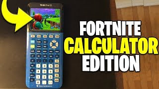 I Pretended I'm Playing Fortnite On a Calculator