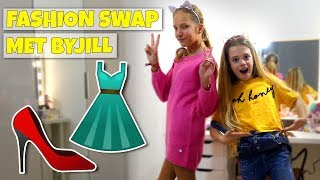 FASHION SWAP MET HAYLEY EN BYJILL!! - Broer en Zus TV VLOG #249