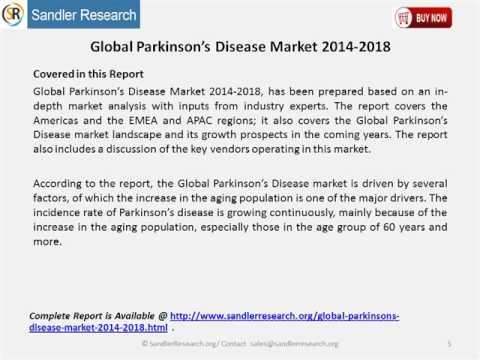 Global Parkinson's Disease Market 2014 2018