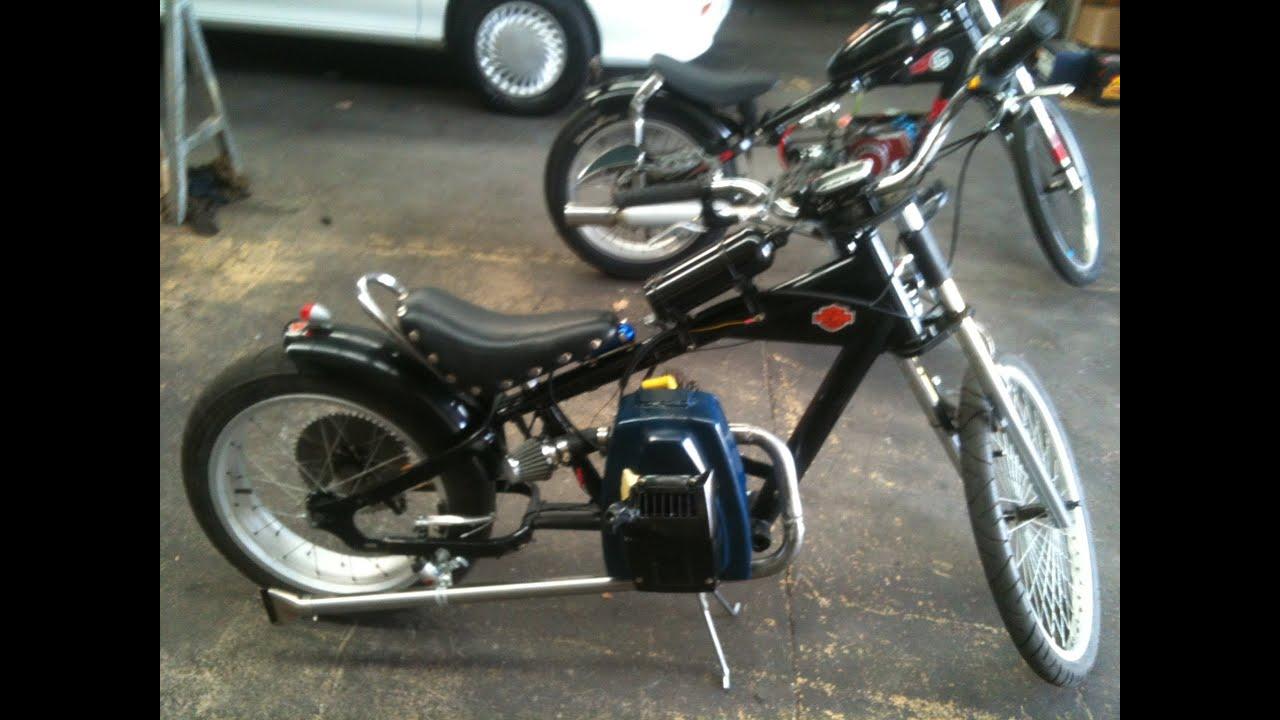 Schwinn Stingray Chopper Bike Rat Rod With Victa Lawn