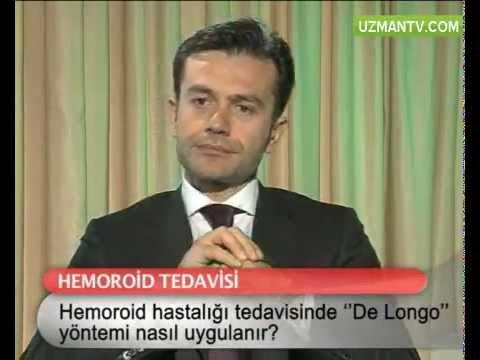 Hemoroid hastalığının tedavisinde de longo yöntemi nasıl