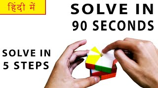 How To Solve A Square 1 In 90 Seconds - SOLVE EASILY | HINDI