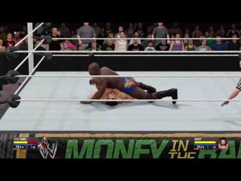 WWE 2K16 Rusev vs Titus O'Neill United States Chmpionship