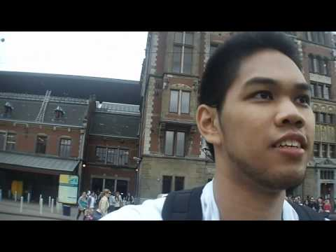 Travel VLog Day10 Rome, Amsterdam, Febo, Food, & Pub Crawl