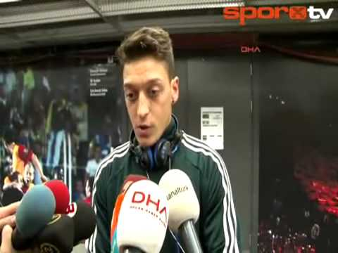 Real Madrid'in Türk asıllı Alman oyuncusu Mesut �zil, Galatasaray'a 3-2 ma�lup oldukları kar�ıla�manın ardından açıklamada bulundu.