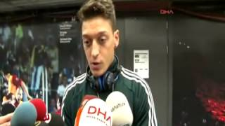 Galatasaray 3-2 Real Madrid | Mesut Özil maç sonu yorumu | 09.04.2013