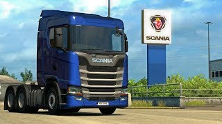 WE'RE OFF TO BUY A NEW SCANIA   Euro Truck Simulator 2   Part 2 of 2