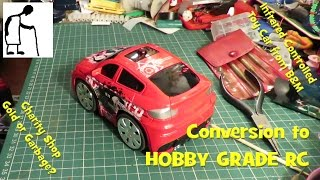Infrared Toy Car to Hobby Grade RC Conversion