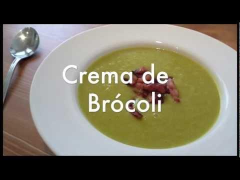 Crema o puré de brocoli - Recetas para olla express o rápida