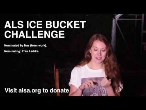 MARISA's ICE BUCKET CHALLENGE / JONDBARKER