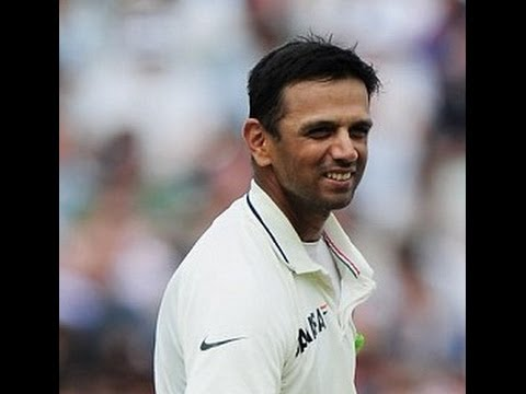 Rahul Dravid out on Duck still smiling | wicket by Collingwood | MCC VS ROW XI 2014