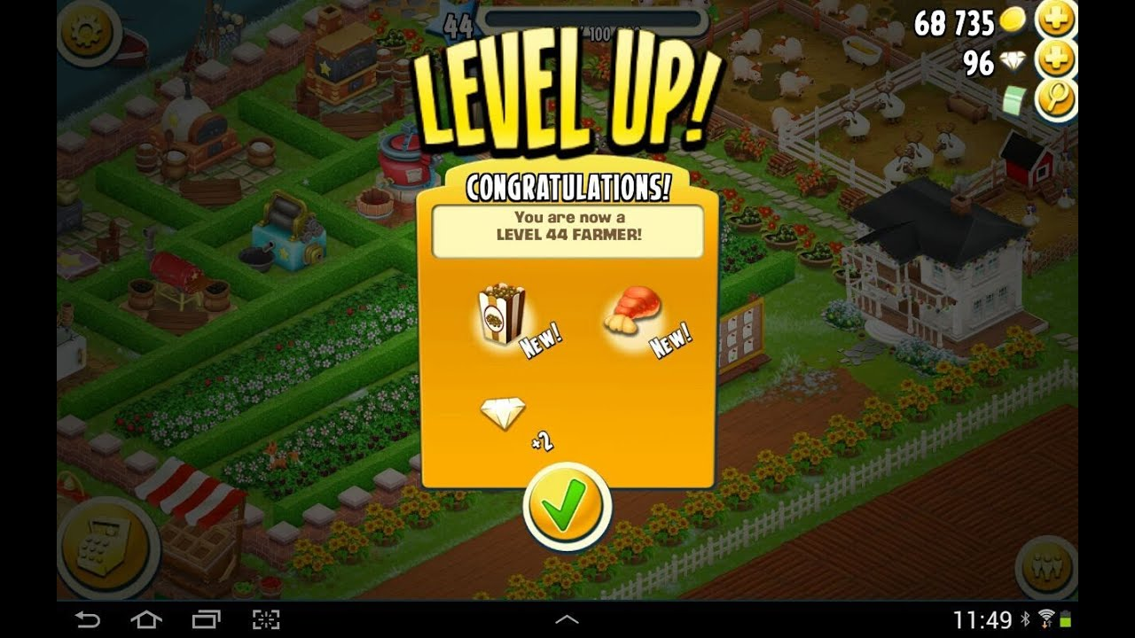 Hay Day Level 44 - YouTube